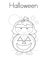 pooh halloween coloring pages young children hallowen