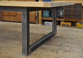 dining table made from square metal tube dining room pinterest