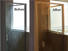 Rain X For Shower Doors by Removing Hard Water Stains From Glass Shower Doors