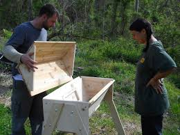 How To Make A Top Bar Beehive Top Bar Hive Day 1