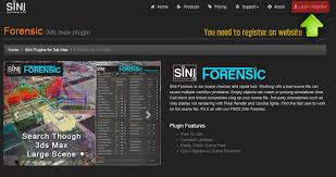 3d Max Home Design Software Free Download Forensic 3ds Max Plugin Sini Software