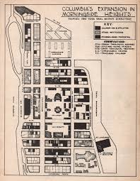 Columbia University Campus Map Archive From Below Selections From Interference Archive
