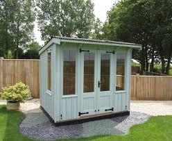 8 x 8 national trust flatford summerhouse in disraeli green ref 701