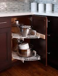 How To Measure For A Lazy Susan Corner Cabinet Cabinet Lazy Susan For Corner Kitchen Cabinet A Corner Cabinet