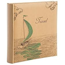 travel photo album 4x6 vacation photo album holds 200 4x6 inch photos by