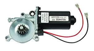 Carefree Awning Motor Lippert Components 266149 Solera Black Power Awning Replacement