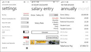 Estimate Income Tax 2015 by Best Windows Phone Apps To Calculate Income Tax