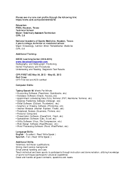 veterinary assistant resume examples vet resume erin final vet