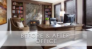 hamptons inspired luxury office before and after robeson design