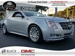 2011 cadillac cts performance coupe pre owned 2011 cadillac cts performance 2 door coupe in delray