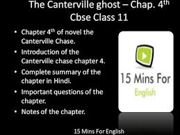 novel canterville ghost