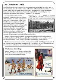guided reading ww1 the christmas truce by richardtownend1978