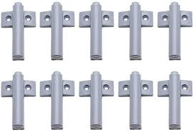 plastic kitchen cabinet door stops lictop 10 pack push to open system soft