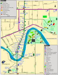 map attractions maps of attractions parks trails restaurants more in frankenmuth