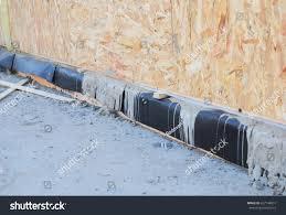 waterproofing basement sip panel walls sip stock photo 627748001