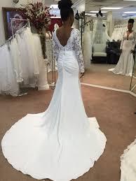 Custom Made Wedding Dresses Long Wedding Dress With Lace Custom Made Wedding Dress