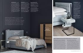 Schlafzimmer Schwarzes Bett Welche Wandfarbe Katalog Schöner Wohnen Kollektion