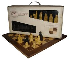 decorative chess set sac isle of lewis chess set with board