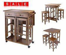 Space Saver Kitchen Tables by Kitchen Table Set Nook Breakfast Bar Stools Wood Furniture Space