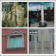 Decorative Concrete Pillars Column Pedestal 3 Piece Mold Set Columns Column Base And Concrete