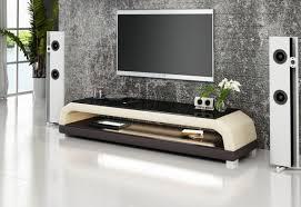 ensemble chambre adulte pas cher meuble tv personalisable aspect cuir modèle cruise
