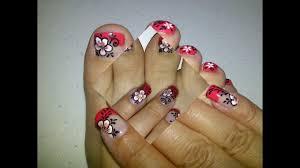 nail art orteils variés nail art toes youtube