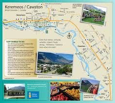 British Columbia Canada Map by Map Find Your Way To The Similkameen Valley