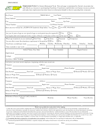 How To Fill Up A Resume 100 Printable Resume Forms To Fill Out 119 Best Resumes