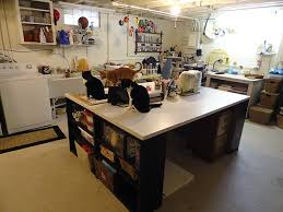 Craft Room Tables - craft tables with storage attempting to organize your creativity