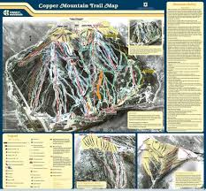 Colorado Trail Maps by Copper Mountain Trail Map Liftopia