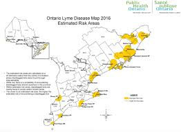 Map Ontario Ca Update Protecting You And Your Dog From Ticks Toronto 2017