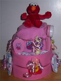 cookie monster baby shower baby shower 2 tier sesame street diaper cake elmo cookie monster