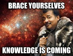 Neil Tyson Meme - on neil degrasse tyson hosting cosmos meme guy