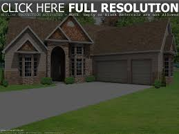 3 Car Garage House 3 Bedroom Bungalow House Plan With Garage Two Story Plans Car Pe