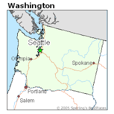 seattle map location best places to live in seattle washington
