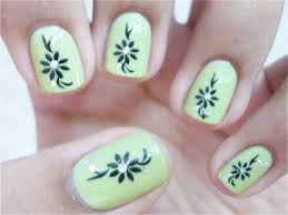 Awesome Cute Easy Nail Designs To Do At Home Photos Interior - Easy nail designs to do at home