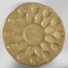 ceramic deviled egg platter frankoma pottery deviled egg plate pottery deviled egg platter