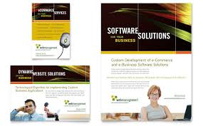 internet software flyer u0026 ad template word u0026 publisher