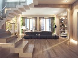 wood interior design beautiful interior design can make a space open comfortable and
