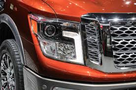 nissan altima 2016 headlights 2016 nissan titan first look motor trend