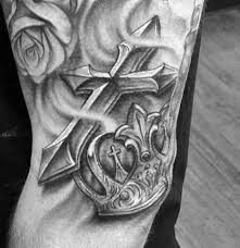 Cross Tattoos - 50 3d cross designs for jesus ink ideas