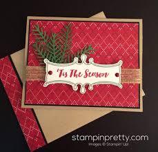 pretty pines u0027tis the season christmas card mary fish card