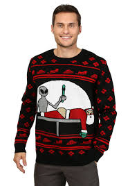 sweater target uncategorized mens santa probe sweater splendi