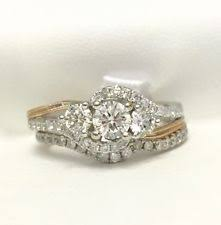 Jared Wedding Rings by Jared Engagement And Wedding Ring Set Ebay