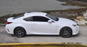 lexus is 350 ultra white 2015 lexus rc350 f sport review
