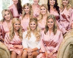 and bridesmaid robes bridesmaid robes set of 3 satin robes bridesmaids gifts