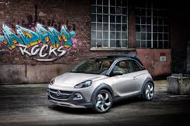 opel adam do we need a crossover styled adam opel and vauxhal seem to think so
