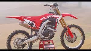 honda racing motocross 2017 honda crf 450 dirt bike magazine youtube