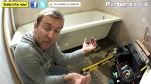 how to install a bath plumbing tips youtube