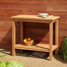 36 Patio Table 36 Teak Outdoor Buffet Table My Garden Pinterest